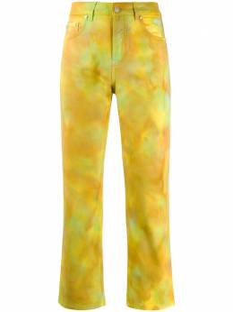 MSGM брюки с принтом тай-дай 2841MDP49T207239