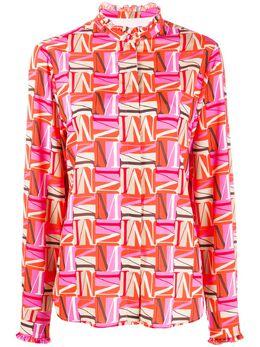 MSGM рубашка с принтом 2841MDE20207159