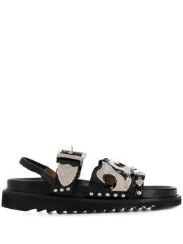 Toga Pulla сандалии с ремешком на пятке FTGPW101809099