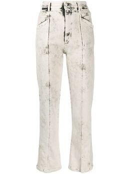 Stella McCartney прямые джинсы с декоративной строчкой 600455SNH77