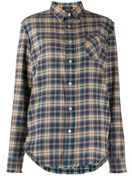 R13 клетчатая рубашка с длинными рукавами R13W7546593