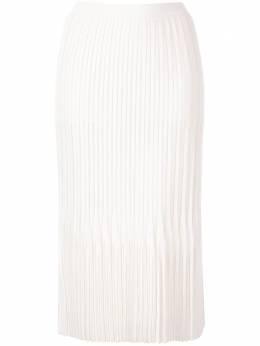 Dion Lee плиссированная юбка миди Godet A7344R20