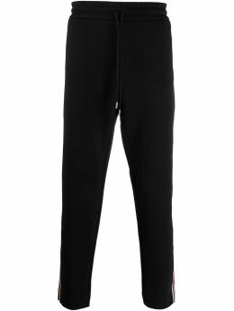 Moncler спортивные брюки с лампасами F10918H70200V8104