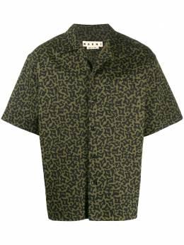 Marni рубашка с принтом Camo Cells CUMU0054A0S52590