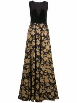 Tadashi Shoji жаккардовое платье Nien BMR19724L