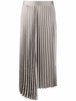 Luisa Cerano плиссированная юбка асимметричного кроя 5180662387