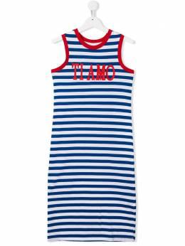 Alberta Ferretti Kids платье Ti Amo без рукавов 022181