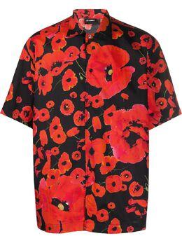 Les Hommes рубашка с принтом LIS301408P