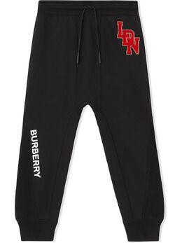 Burberry Kids спортивные брюки с логотипом 8022244