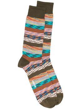 Missoni полосатые носки MUS00008BK00IS