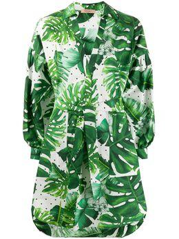 Twin-Set платье-рубашка с принтом 201TP2551