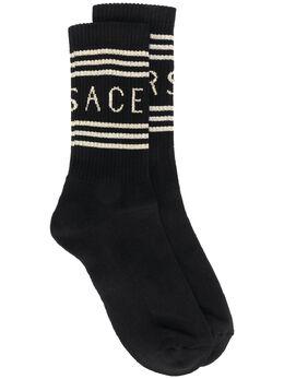 Versace носки с логотипом ICZD002IK0203
