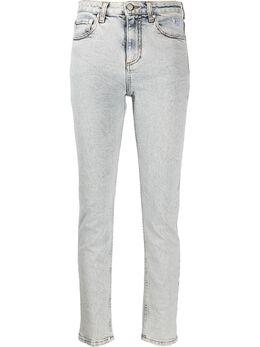 MSGM джинсы скинни с логотипом 2841MDP48LX207275