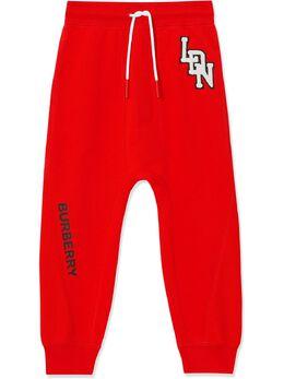 Burberry Kids спортивные брюки с логотипом 8022243
