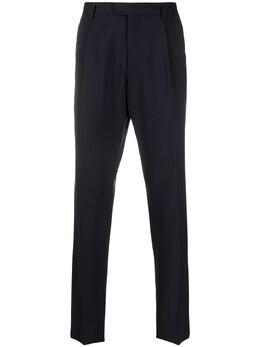 Z Zegna строгие брюки кроя слим 7FN3C27ZF