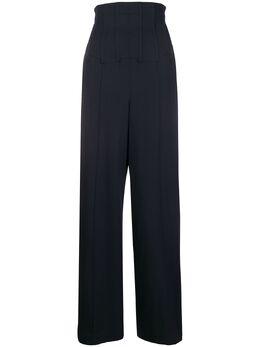 Chalayan брюки широкого кроя с корсетом WP303FP104NV