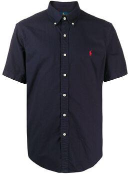 Polo Ralph Lauren рубашка оксфорд с вышитым логотипом 710795382