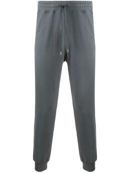 Vivienne Westwood Anglomania брюки с вышитым логотипом 3602000320988
