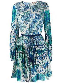 Twin-Set платье с принтом пейсли 201TP2532