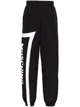 Moschino спортивные брюки с логотипом A03410221