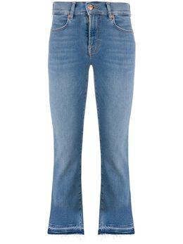 7 For All Mankind джинсы с завышенной талией и эффектом потертости JSYRA840SP