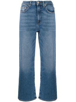 7 For All Mankind укороченные джинсы прямого кроя JSWJ1200CI