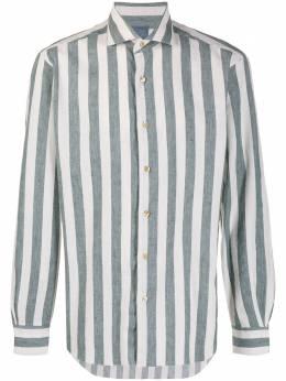 Barba рубашка в полоску с длинными рукавами 647403