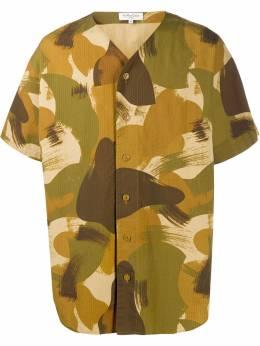 Ymc рубашка с камуфляжным принтом P2NAW90