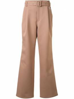 Wooyoungmi широкие брюки с поясом W201PT01CAMELL