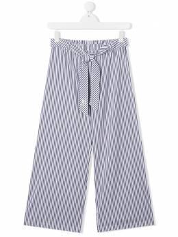 Ermanno Scervino Junior широкие брюки в полоску PL11RIG