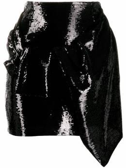 Amen юбка мини с завышенной талией AMW19331