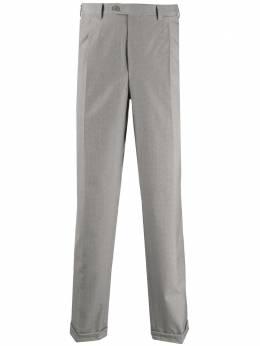 Brioni строгие брюки со складками RPL20LP3AC7