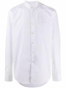 Dell'oglio рубашка с воротником-стойкой BAGU2F7UUC1401152583