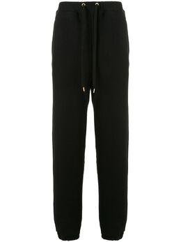 Makavelic спортивные брюки прямого кроя с молниями 312041402BK