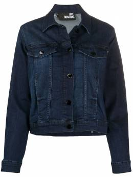 Love Moschino джинсовая куртка с логотипом WH60909S3386