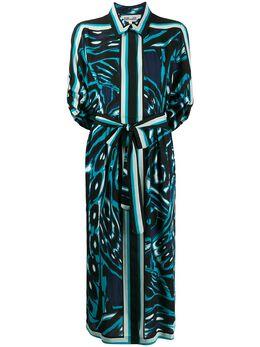 Dvf Diane Von Furstenberg платье-рубашка миди Sogol 13886DVF