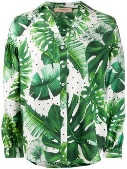 Twin-Set рубашка с принтом 201TP2550