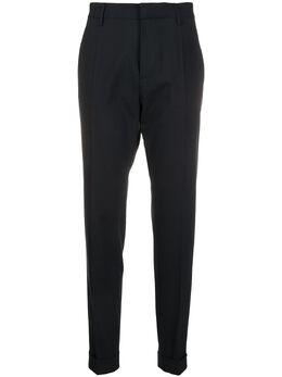 Dsquared2 брюки строгого кроя с подворотами S75KB0099S40320
