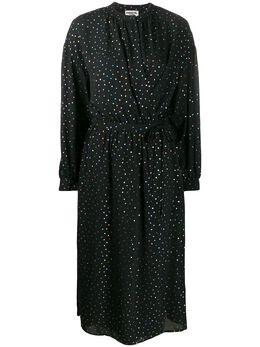 Essentiel Antwerp платье-рубашка Vida Loca в мелкую точку VIDALOCA