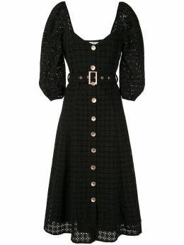 We Are Kindred платье миди Vienna в технике кроше KIN1403