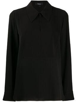 Theory рубашка с воротником J1002502