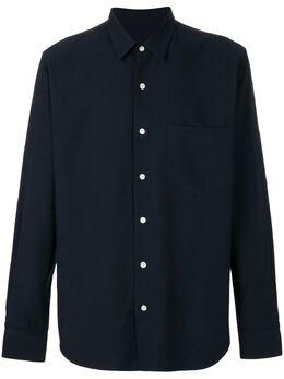 Ami Paris классическая рубашка свободного кроя H18C139414