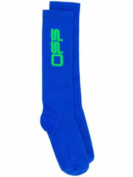 Off-White жаккардовые носки с логотипом OWRA003R209710873040