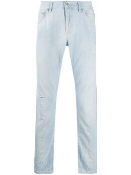 Dondup джинсы кроя слим с эффектом потертости UP168DF0232UAC3