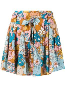 Dodo Bar Or расклешенная юбка с цветочным принтом DBO1133