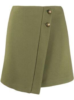 Patrizia Pepe юбка мини с запахом 8G0170A5J1