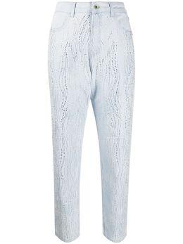 Patrizia Pepe декорированные джинсы с завышенной талией 8J0929A752