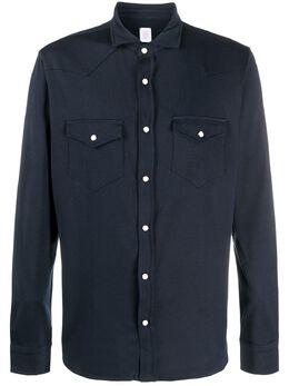 Eleventy рубашка узкого кроя с длинными рукавами A75CAMA06TSH26001
