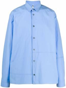 Oamc рубашка с декоративными швами OAMQ600831