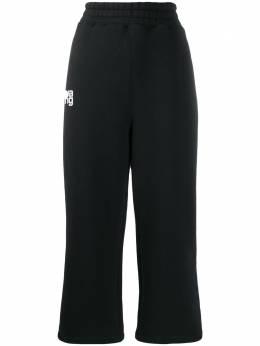 T By Alexander Wang укороченные брюки широкого кроя 4CC1204016